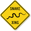 Snake Xing Animal Crossing Sign