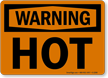 Orange Warning Sign