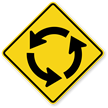 Circular Intersection (Symbol) - Traffic Sign