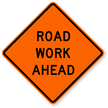 Road Work Ahead - Traffic Sign