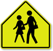 School Children Symbol - Traffic Sign