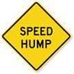 Speed Hump - Traffic Sign