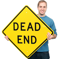 Dead End - Traffic Sign