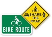 Buy the Best Bicycle Signs