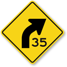 Free Advisory Speed Limit Signs