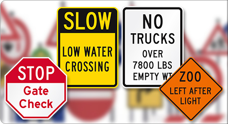 Custom MUTCD Road Traffic Signs
