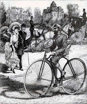 First Safety Bicycle 1884
