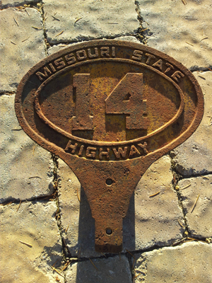 1920 Missouri Route Marker