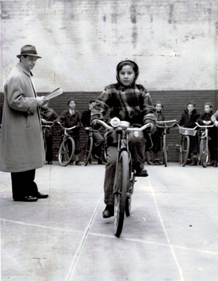 1939 NYC Bike Safety Class