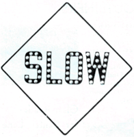 Slow sign with cataphotes; 1948