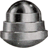 Cataphote reflector button from 1948