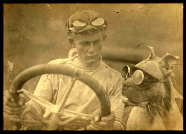 The first cross-country driving team