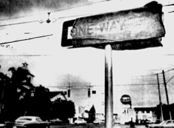 One-Way Sign 1977