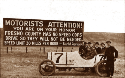 Vintage Speed Limit Sign from Redditpics