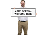 Customized Directional Arrow Signs Template