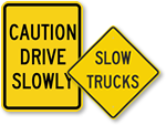 All Slow Traffic Signs