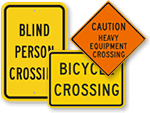 All Crossing Signs