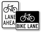 Bike Path Signs