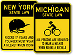 Bike Safety Signs by State