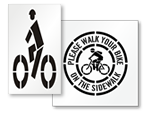 Bicycle Stencils