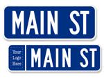 Nob Hill Street Signs