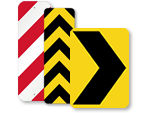 Chevron Road Signs