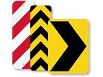 Chevron Road Signs