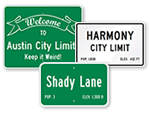 City Limit Signs