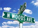 Nob Hill Classic Street Signs