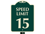 Community Speed Limit Signs
