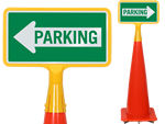 ConeBoss Parking Signs for Traffic Cones