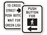Crosswalk Instruction Signs