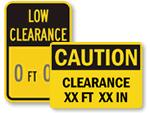 Custom Clearance Signs