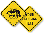 Custom Crossing Signs