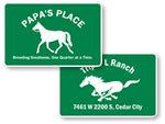 Custom Farm Signs