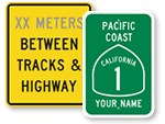 Custom Highway Signs