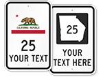 Custom Highway Signs