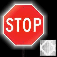 Diamond Grade Reflective STOP Signs
