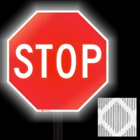 Diamond Grade Reflective STOP Signs