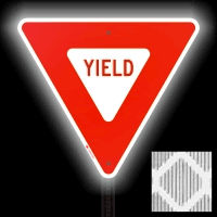 Diamond Grade Yield Signs