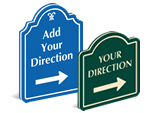 Directional PermaCarve Signs
