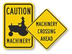 Farm Machinery Signs
