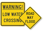 Flood Warning Signs