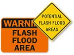Flood Warning Signs