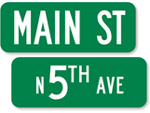 Green Street Signs - 6