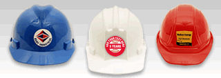Custom Hard Hat Label Templates