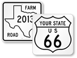 Route Marker Signs