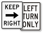 Keep Right or Left