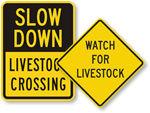 Livestock Warnings