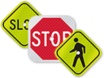 Mini Traffic Signs